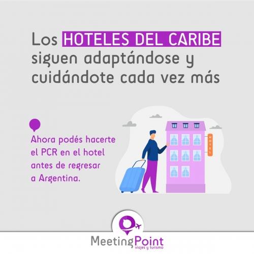 TEST PCR EN HOTELES DEL CARIBE